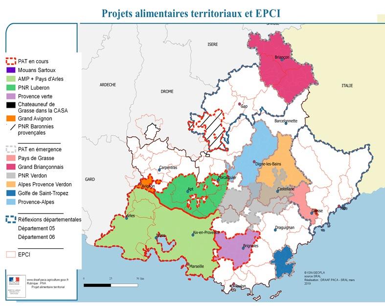 Réseau Rural de la région Paca - Réunions du Réseau régional des PAT